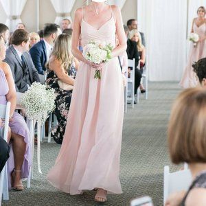 Light Pink Bridesmaid's Dress